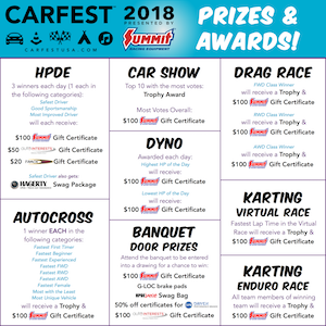 CARFEST 2018 Awards