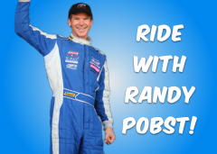 Ride with Randy Pobst at CARFEST 2018!